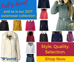 Sportoli 2017 Outerwear Collection