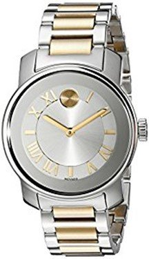 Movado Women's Two-Tone Stainless Steel Watch