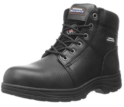 mens steel toe working boots