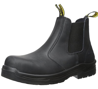 best slip on work boots for flat feet