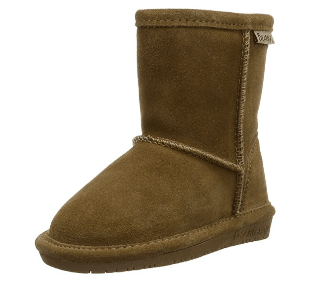 BEARPAW Kids' Emma Toddler Zipper Mid Calf Boot